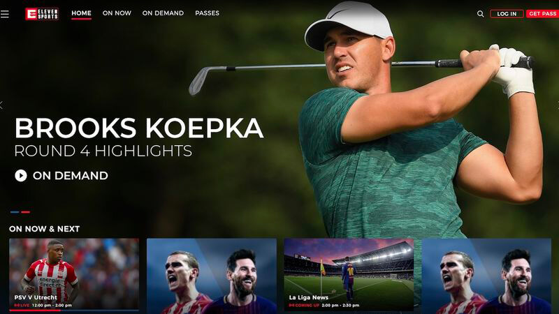 eleven sports launches with pga championship image